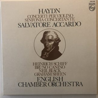 6769 059 Haydn Violin Concertos etc. / Accardo / ECO 2 LP box set