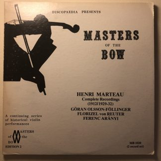 MB 1020 Master of the Bow - Marteau