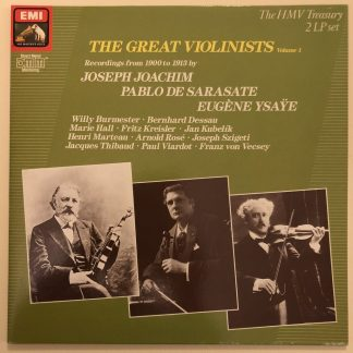 EX 7 61062 1 The Great Violinists Vol. 1