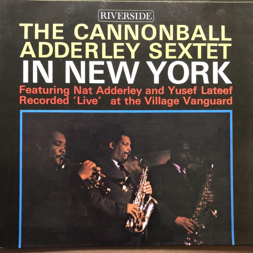 RLP 9404 Cannonball Adderley in New York
