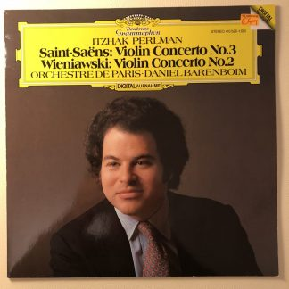 410 526-1 Saint-Saëns / Wieniawski / Itzhak Perlman