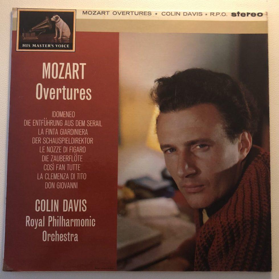 CSD 1406 Mozart Overtures / Davis G/G