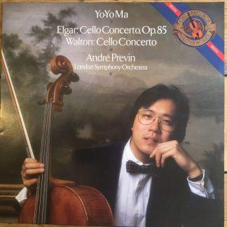 IM 39541 Elgar / Walton Cello Concertos / Yo-Yo Ma / Previn / LSO