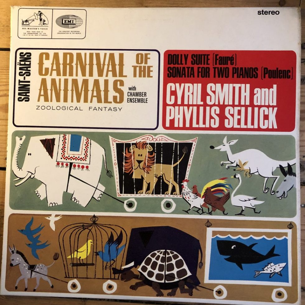CSD 1624 Saint-Saens / Faure / Poulenc / Cyril Smith & Phyllis Sellick