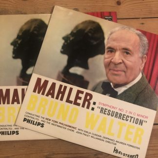 SABL 189/90 Mahler Symphony No. 2 'Resurrection'