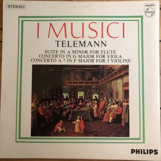 SAL 3737 Telemann Concertos / Suite