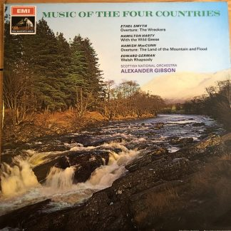 ASD 2400 Music of the Four Countries / Gibson / Scottish National Orchestra