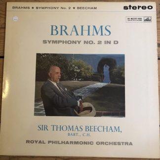 ASD 348 Brahms Symphony No. 2 / Beecham W/G