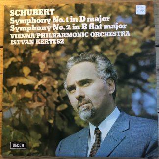 SXL 6552 Schubert Symphonies 1 & 2 / Kertesz
