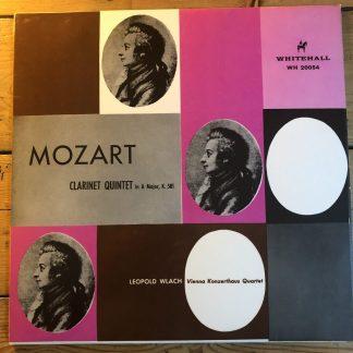 WH 20054 Mozart Clarinet Quintet