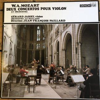 OX-7025-ND Violin Concertos Nos 1 & 2 / Gérard Jarry / J.-F. Pailliard