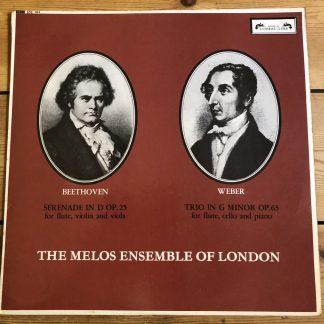 SOL 284 Beethoven / Weber / Melos Ensemble GROOVED