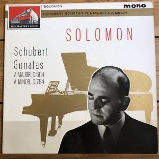 ALP 1901 Schubert Piano Sonatas D.664 & D.784