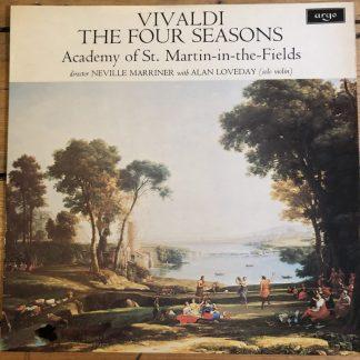ZRG 654 Vivaldi The Four Seasons / Loveday / Marriner / ASMF