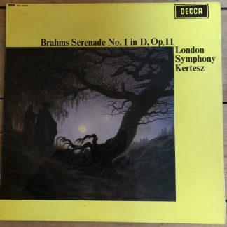 SXL 6340 Brahms Serenade No. 1