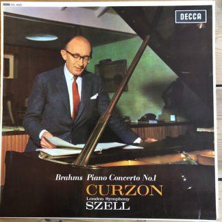 SXL 6023 Brahms Piano Concerto No. 1 / Curzon / Szell W/B