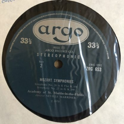 ZRG 653 Mozart Symphonies