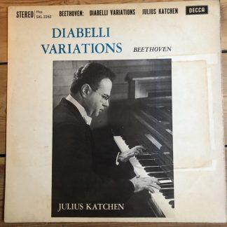 SXL 2262 Beethoven Diabelli Variations / Julius Katchen