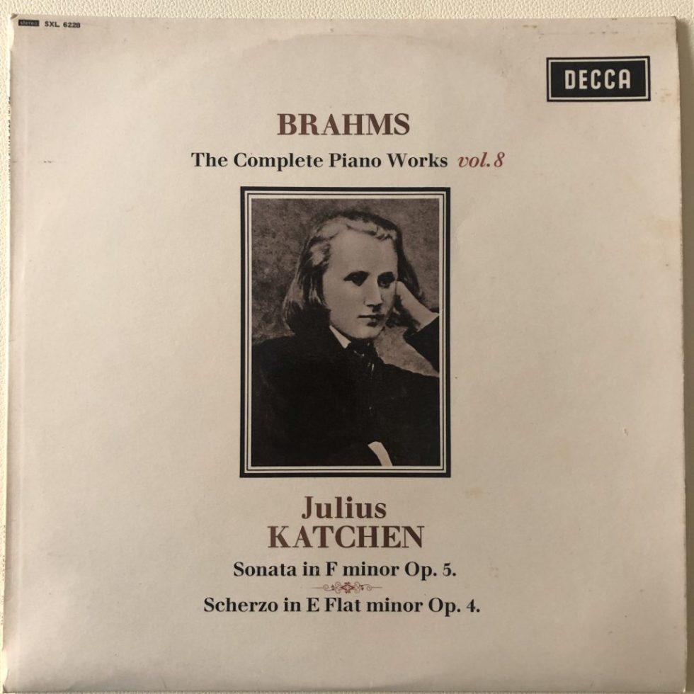 SXL 6228 Brahms Complete Piano Works