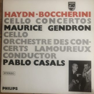SABL 188 Haydn / Boccherini Cello Concerto
