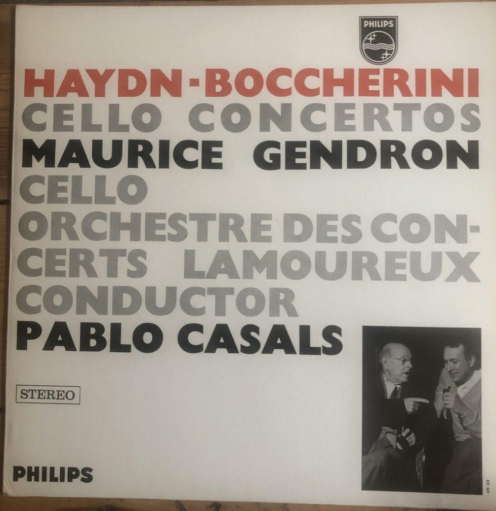 SABL 188 Haydn / Boccherini Cello Concerto