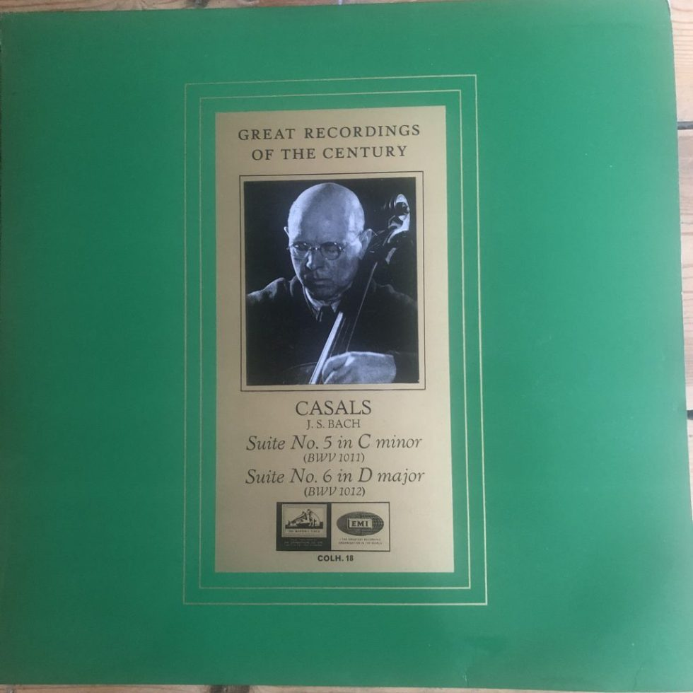 COLH 18 Bach Cello Suites 5 and 6