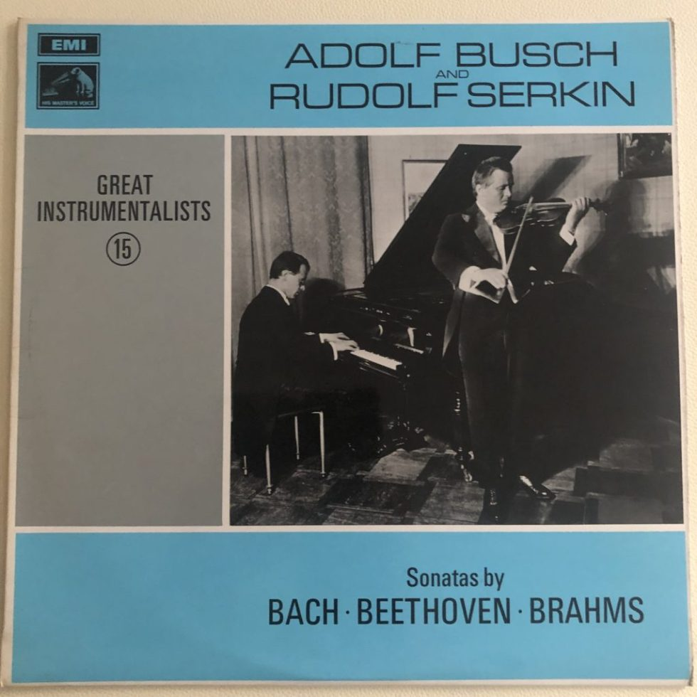 HQM 1219 Bach / Beethoven / Brahms /