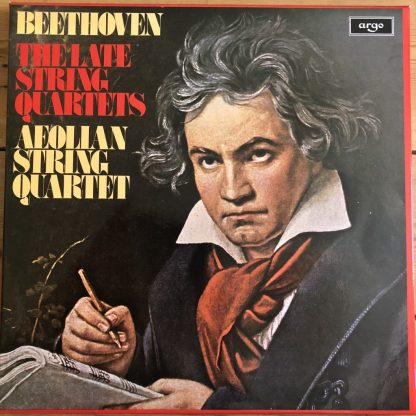 D155 D4 Beethoven The Late String Quartets