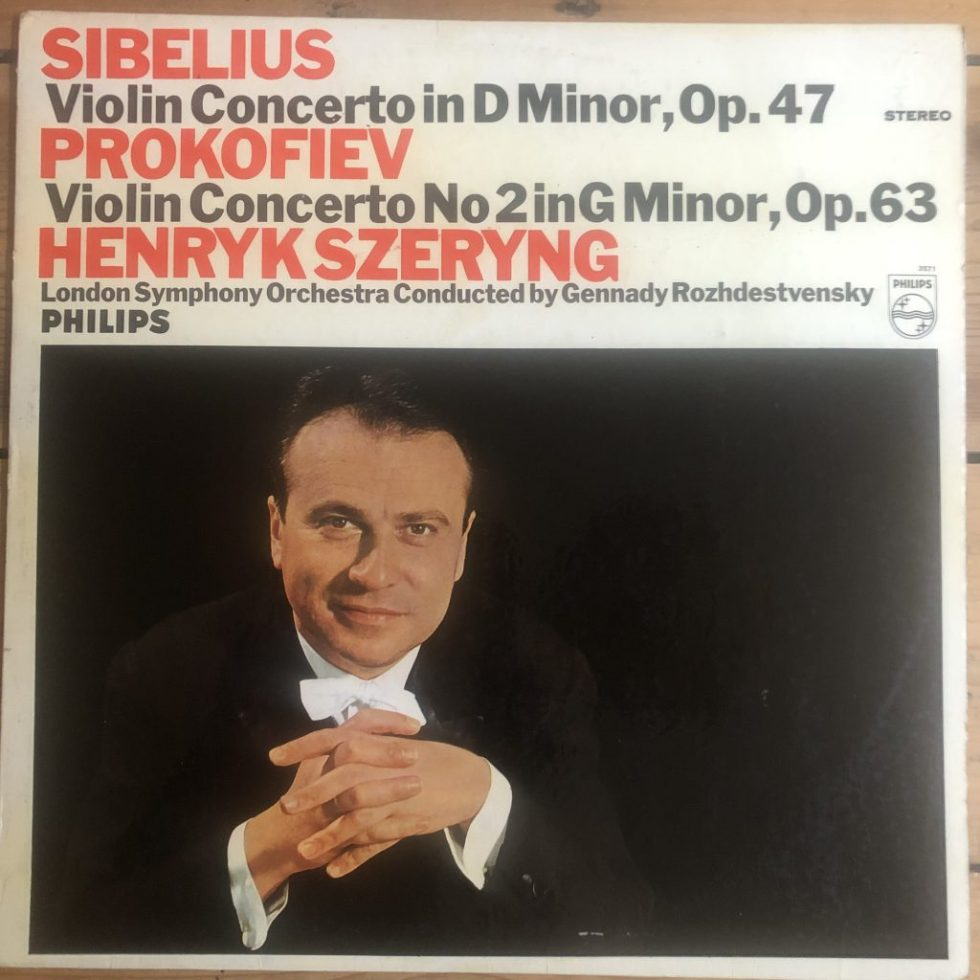 SAL 3571 Sibelius / Prokofiev Violin Concertos / Szeryng P/S