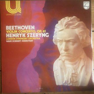 6580 004 Beethoven Violin Concerto / Szeryng / Schmidt-Isserstedt / LSO