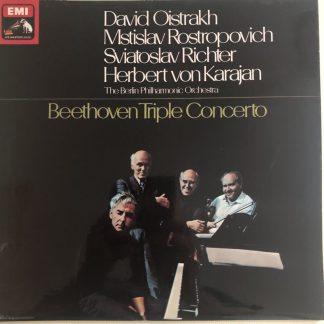 ASD 2582 Beethoven Triple Concerto / Oistrakh / Rostropovich / Richter / Karajan