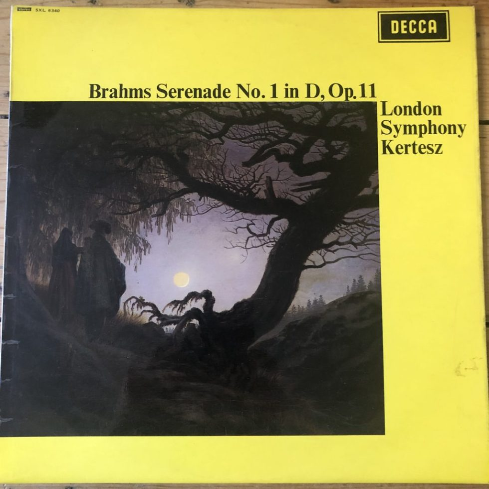 SXL 6340 Brahms Serenade No. 1 in D, Op. 11 / Kertesz / LSO W/B
