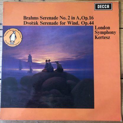 SXL 6368 Brahms Serenade No. 2 / Dvorak Serenade for Wind / Kertesz