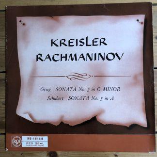 RB 16154 Grieg / Schubert Violin Sonatas