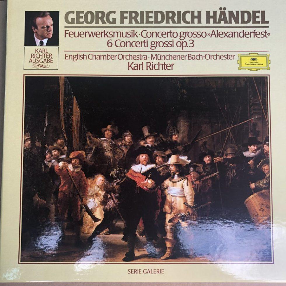 413 971-1 Handel Fireworks Music, Concerti Grossi etc.