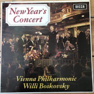 SXL 6256 New Year's Concert / Boskovsky / VPO W/B
