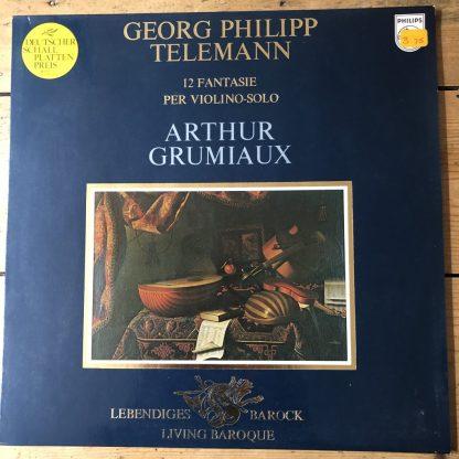 9502 010 Telemann 12 Fantasia For Violin / Arthur Grumiaux