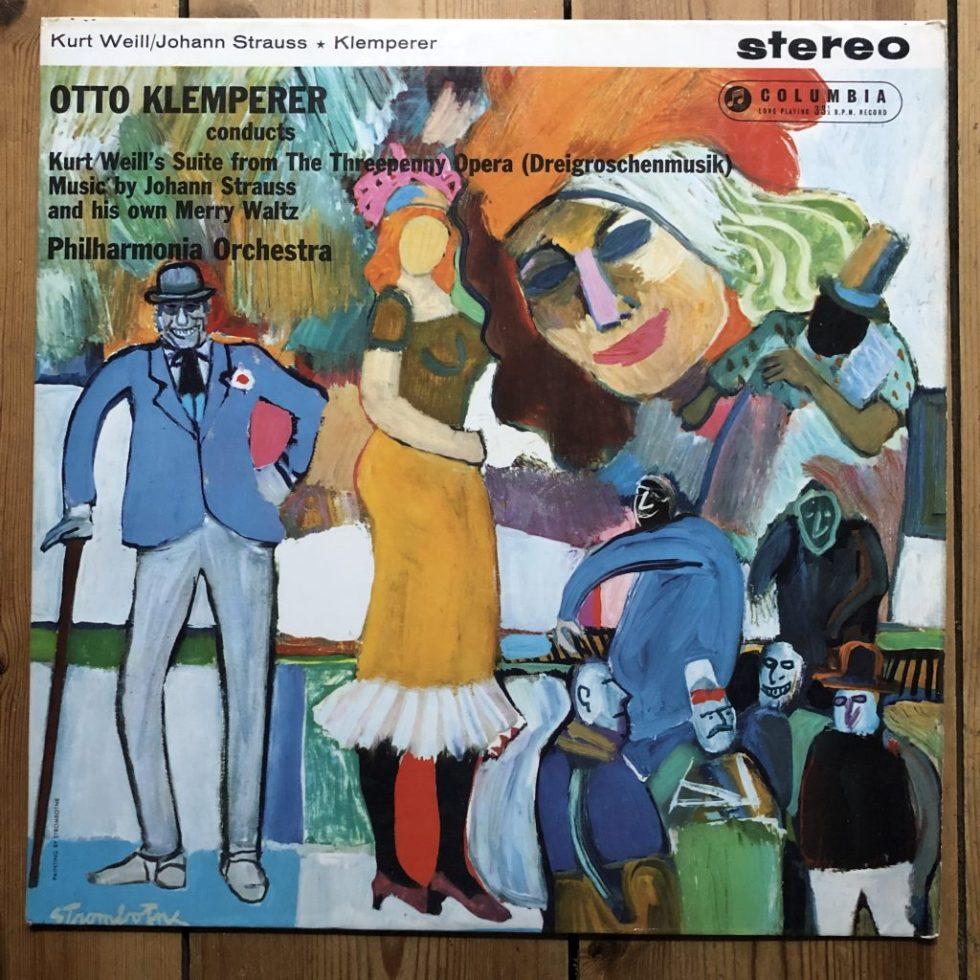 SAX 2460 Weill / Strauss / Klemperer / Philharmonia Orchestra B/S