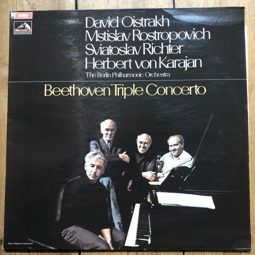 ASD 2582 Beethoven Triple Concerto / Oistrakh /