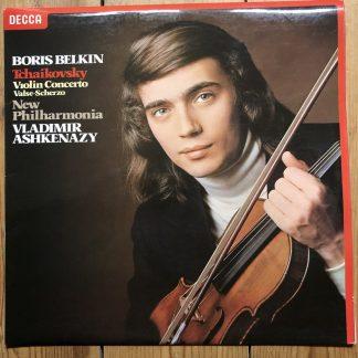 SXL 6854 Tchaikovsky Violin Concerto / Boris Belkin