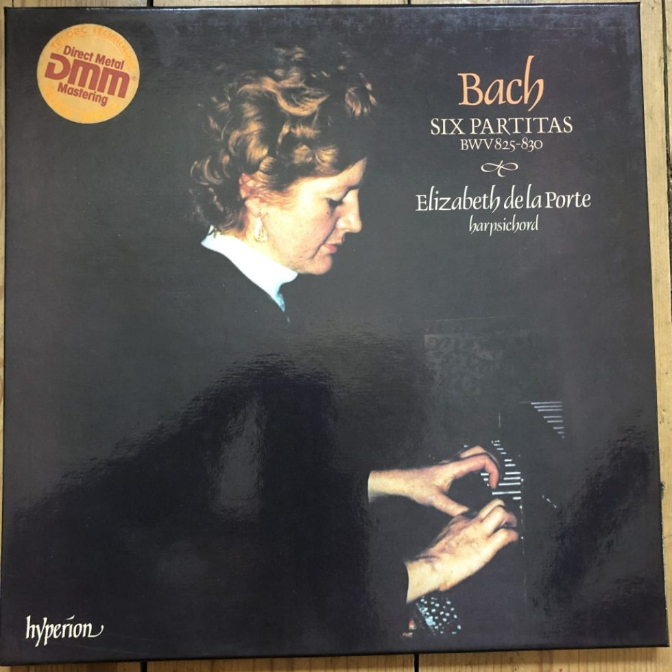 A66041-3 Bach The Six Partitas BWV 825-30 / de la Porte 3 LP box