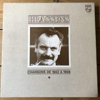 6641 956 Brassens Chansons de 1952 a 1956