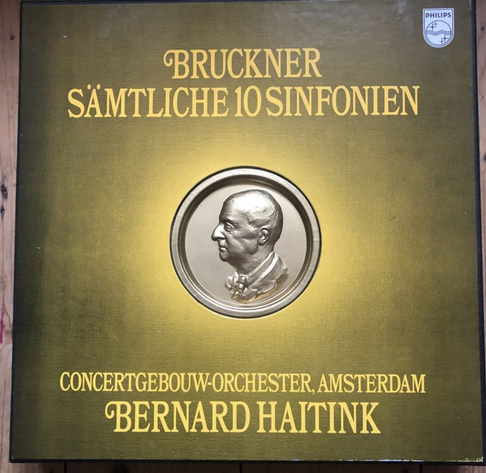 6717 002 Bruckner The 10 Symphonies / Haitink 12 LP box