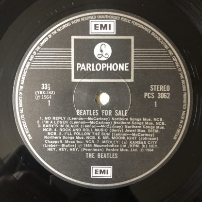 PCS 3062 The Beatles for Sale
