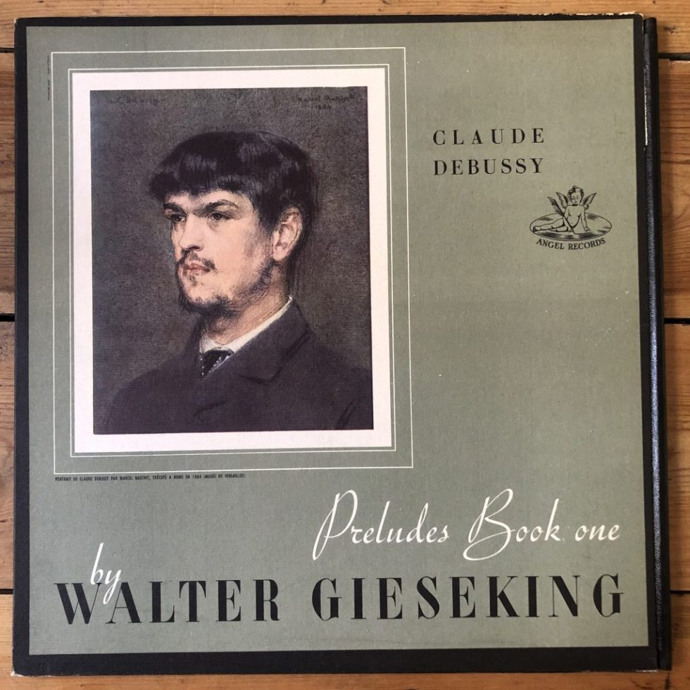 ANG 35066 Debussy Preludes Book One / Walter Gieseking