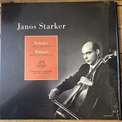 ANG 35418 Prokofiev / Milhaud Cello Concertos / Janos Starker