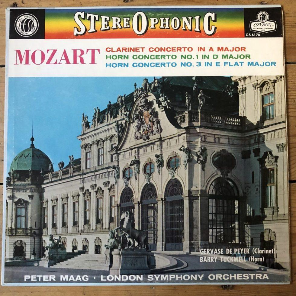 CS 6178 Mozart Clarinet / Horns Concertos / Maag