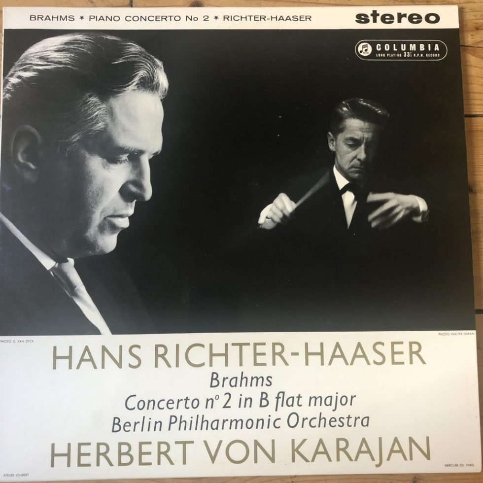 SAX 2328 Brahms Piano Concerto No. 2 / Richter-Haaser / Karajan