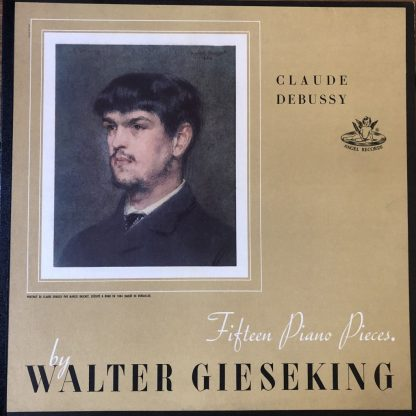 ANG 35026 Debussy Fifteen Piano Pieces / Walter Gieseking