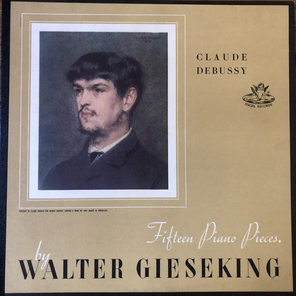 ANG 35026 Debussy Fifteen Piano Pieces / Walter Gieseking